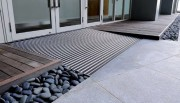 Tapis d'entrée pour commerce - Epaisseur du tapis : de 10 à 27 mm