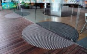 Tapis d'entrée professionnel en caoutchouc - Epaisseur du tapis : de 13 à 27 mm
