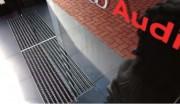 Tapis d'entrée rigide pour trafic intense - Epaisseur du tapis : 42 mm