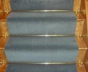 Tapis d'escalier à motif pour hotel - Collection trianon