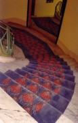 Tapis d'escalier pour hôtel - Tapis d'escalier  sur demande pour hôtel