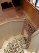 Tapis d'escalier pour magasin