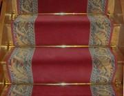 Tapis d'escalier tissé - Collection louvre antique