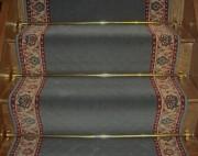 Tapis d'escalier tissé sur métier wilton - Collection carthago