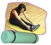 Tapis d'exercice gymnastique en mousse - Dimensions (L x l x Ep) cm : 180 x 50 x 0.8