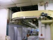Tapis de convoyage courbe - Courbe à mailles plastiques