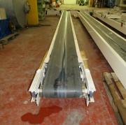 Convoyeur tapis de manutention double bande occasion - Transporteur double bandes longueur 1000 mm