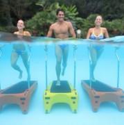 Tapis aquatique - Tapis aquatique à 3 rouleaux d'entrainement