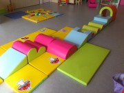 Tapis de sol pour espace de jeux - Épaisseurs de tapis : 2cm, 3cm ou 4cm