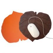 Tapis de Souris Feuille de Kiwi - Cuirs recyclés - 4 finitions - 11 couleurs - Personnalisable
