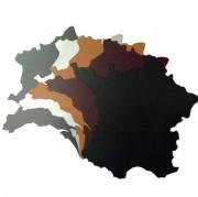 Tapis de souris synderme - Dimensions : 28 x 27,5 cm