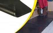 Tapis de travail anti fatigue pour station debout - Dimensions (L x l)  : 1000 x 800 mm