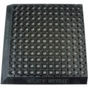 Tapis de travail caillebotis anti fatigue - Dimensions (mm) : 510 x 510