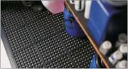 Tapis ergonomique pour l'industrie - Antidérapant - Dimensions (cm) : 90x90 - 96.5x6.5 Epaisseur (mm) : 17