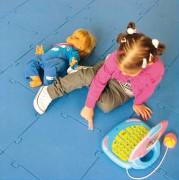 Tapis gymnastique enfant modulaire