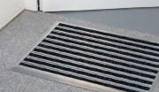 Tapis paillasson absorbant - Epaisseur du tapis : 10 mm