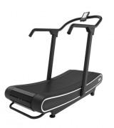 Tapis roulant courbé pour cardio training - Tapis de course professionnel sans moteur à écran LCD