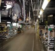 Tapis Transport de Personnel - En plastique  - optimale pour des chaînes de montage automobiles