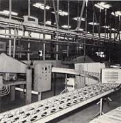 Tapis transporteur industriel
