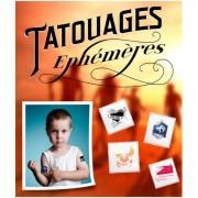 Tatouage temporaire - Imprimés en quadrichromie - 3 tailles standards : 4x4, 5x5, 6x6 cm