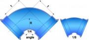 Té de vidange CLASSIQUE à joint EXPRESS et tubulure bride DN 350 à 1000 - Raccords Non verrouillés - DN 350 à 1000