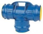 Té KLIKSO pour tubes PVC à trois emboîtures - Raccords en fonte ductile KLIKSO