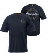 Tee-shirt bleu marine caterpillar - Tailles : S- M - L - XL - XXL- 100 % coton jersey