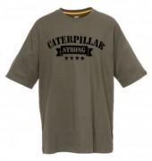 Tee shirt Caterpillar en Kaki - Tailles : M - L - XL - XXL