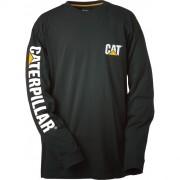 Tee shirt Caterpillar manches longues - Taille : S-M-L-XL-XX - Matière : 100% coton