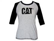 Tee-shirt femme Caterpillar - Taille : S-M-L-XL - Matière : Coton /spandex jersey,