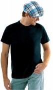 Tee-shirt personnalisable manches courtes unisexe coton - Tee-shirt personnalisable manches courtes unisexe jersey