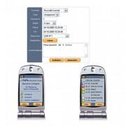 Télégestion mission personnel itinérant - Par téléphone portable