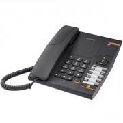 Téléphone Alcatel Temporis 380 Noir - Téléphone filaire avec prise casque