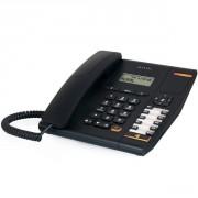 Téléphone Alcatel Temporis 580 noir - Téléphone filaire avec prise casque et écran