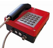 Téléphone analogique ATEX gaz - Certification : Zones 1 et 2 (Gaz) - Zones 21 et 22 (Poussière)
