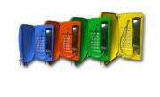 Téléphone endurci avec porte  - Téléphone endurci avec porte Fonte d Aluminium TITAN