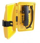 Téléphone étanche avec porte - Puissance sonore : 80 ou 90 dB