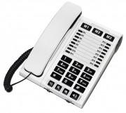 Téléphone filaire multifonction - Réglage du volume d'émission jusqu'à -4, 0, 4