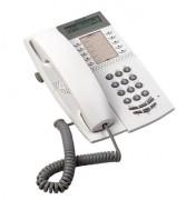 Téléphone fixe avec écran et prise casque