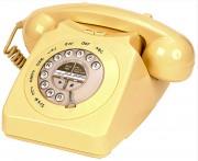 Téléphone fixe rétro - Sonnerie mécanique