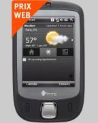 Téléphone HTC P3450 Touch Bouygues Telecom - Pour forfaits Pro Bouygues Telecom