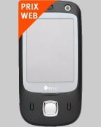Téléphone HTC P5500 Touch Dual Noir Bouygues Telecom - Pour forfaits Pro Bouygues Telecom