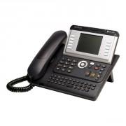Téléphone IP Alcatel à écran réglable - Poste numérique IP mains libres - prise casque - 10 touches directes