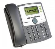 Téléphone IP filaire Cisco Linksys - Nombre de lignes : 2 à 4
