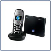 Téléphone IP Gigaset Siemens C450 (DECT/SIP) Noir - VoIP, téléphonie via Internet