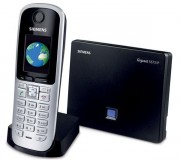 Téléphone IP Siemens DECT VoIP Gigaset S675IP - Titane - Téléphone sans fil hybride: analogique et VoIP