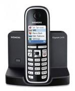 Téléphone IP Siemens Gigaset C470 - Téléphone sans fil DECT (coloris noir) (Version Française)