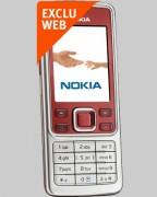 Téléphone NOKIA 6300 Red Bouygues Telecom - Pour forfaits Pro Bouygues Telecom