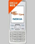 Téléphone NOKIA 6300 White Bouygues Telecom - Pour forfaits Pro Bouygues Telecom