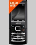 Téléphone NOKIA 6500 Classic Noir Bouygues Telecom - Pour forfaits Pro Bouygues Telecom